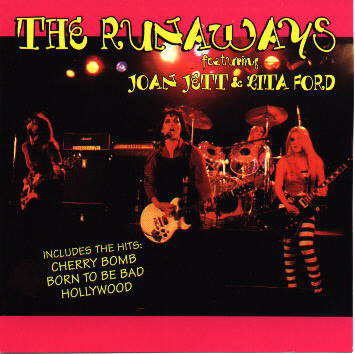 The Runaways featuring Joan Jett and Lita Ford